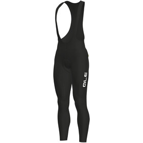 Alé Cycling Solid Winter Bib Tights Herre black-white